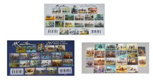 All 3 Mort Kunstler Postcard Sets [60 Cards]